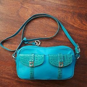 Vintage Brighton leather crossbody bag